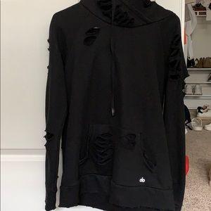 Alo Yoga black hoodie